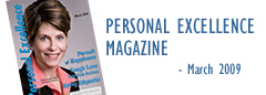 Make Your Best Impression on the cover of Personal Excellence Magazine